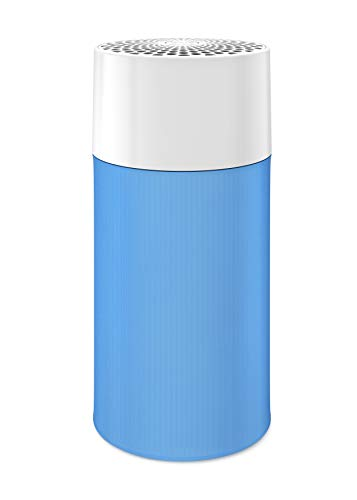 Blue Pure 411 Luftreiniger 3-stufig mit einem waschbaren Vorfilter, Partikel, Kohlefilter, beseitigt Allergene, Gerüche, Rauch, Schimmel, Staub, Keime, Haustiere, Raucher, kleine Fläche