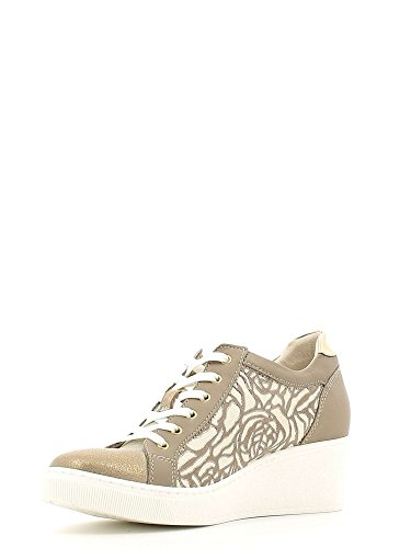 Grunland SC2278 Sneakers Femmes Taupe