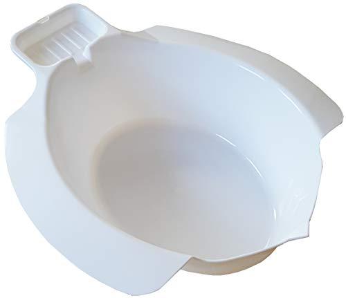 mobiles Ingbertson® Einsatz-Bidet für WC aus Kunststoff Toiletteneinsatz Bidet Sitzbad (A, 1 - Pack)