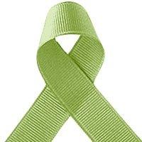 Bertie lazos color verde pastel 9mm groguén 25m