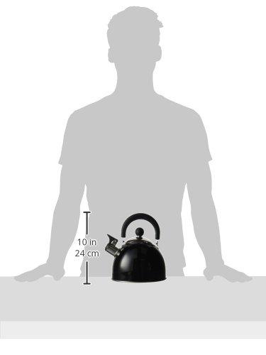 Highlander - Bollitore con fischio, nero (nero), Taglia unica