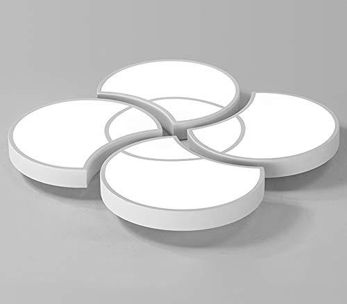 HSWU-CEILING Deckenleuchte LED Warm Und Romantisch Home Decoration Nachttischlampe Kinderzimmer Weißlicht Haushaltsleuchter Beleuchtung Lampe,Weiß,52 * 7.5cm -