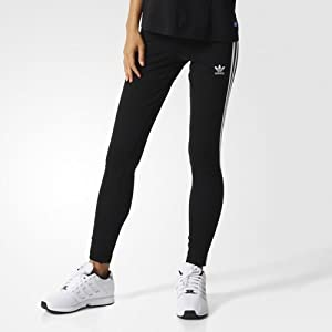 31LBkkkIymL. SS300 adidas - 3 Stripes, Leggings Sportivi Donna