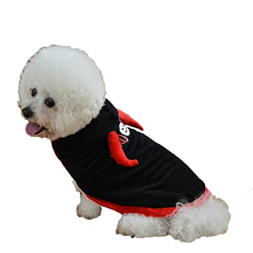 (Halloween Pet Kostüm, Hund Halloween Kleidung (Farbe : SCHWARZ, größe : XL))