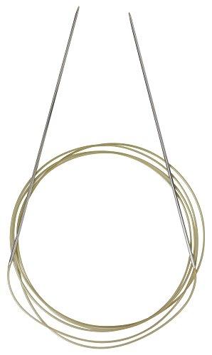 Addi Aiguilles circulaires rundnadeln Métal BIS de 1,5 mm (105-7), 1,5/150 cm