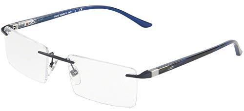 Starck eyes occhiali da vista 0sh2024 blue 53/20/145 uomo