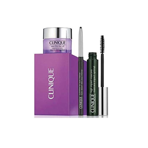 Mascara Set mit Mascara, Cleansing Balm und Eye Liner 7ml + 15ml + 0,14g ()