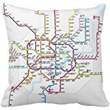 Shanghai Metro Map Throw re49265b677cb4494 a476b24e734 7 F12 a i52ni 8byvr Pillow Case