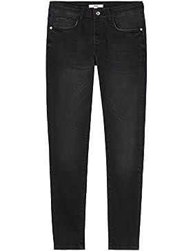 FIND Herren Verkürzte Skinny-Jeans mit Waschung