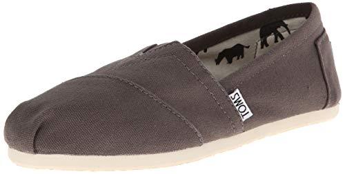 Toms Damen Classics Espadrilles Grau (ASH) 40 EU - Toms Kleidung
