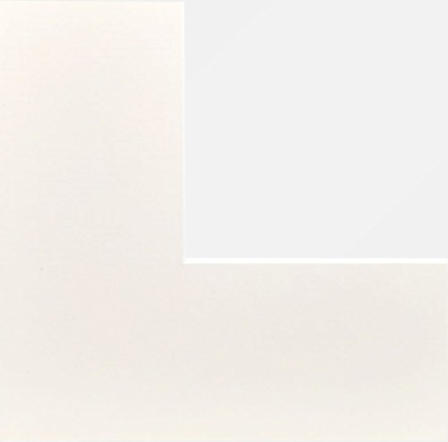 PANORAHMA BILDERRAHMEN Passepartout mit Aussenformat 40x50, für Bildgröße 30x40, creme (6002)