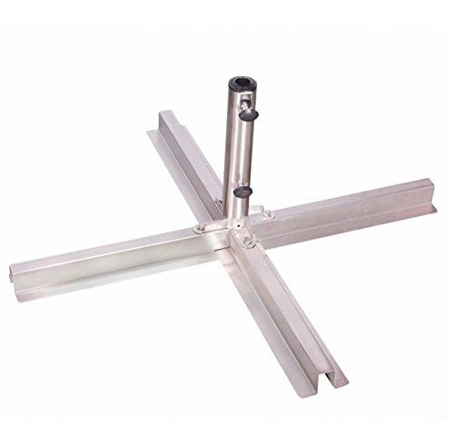 Doppler Plattenschirmständer für Sonnenschirme mit 25 bis 48 mm Rohrdurchmesser, verstellbar für...