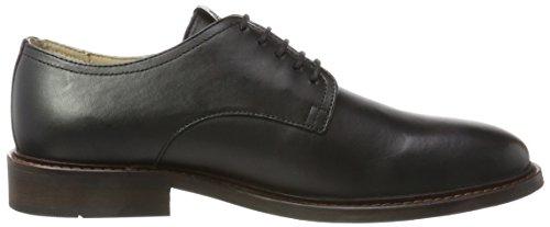 Marc OPolo Lace Up Shoe 70823773401106, Richelieus Homme Schwarz (Black)
