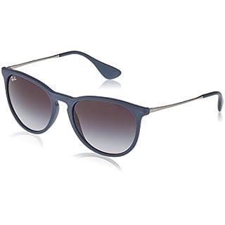 Burenqi Polarisierte Sonnenbrillen Für Männer Persönlichkeiten Hipster Vintage Sonnenbrille Fahren Gläser Uva-Uvb, 8811 Dazzle Blau