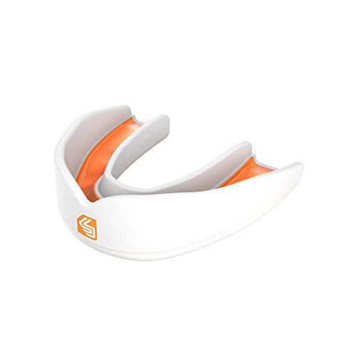 ShockDoctor Erwachsene Mundschutz Ultra Multisport, White, 11+, 83MS02-WH-AD
