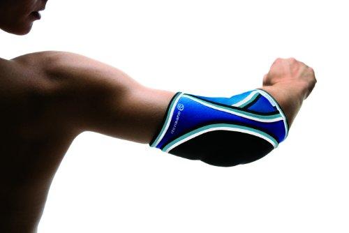 Rehband Damen Ellenbogenschoner 7721 Handball, blau, S, Ellenbogenschutz Handball Damen_3
