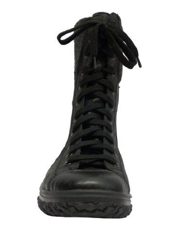 RIEKER Stiefelette Z4212-00 schwarz Cordula schwarz/anthrazit