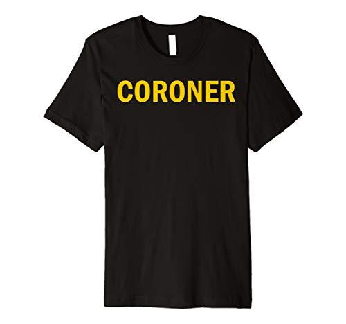 coroner Vorder- und Rückseite, coroner -