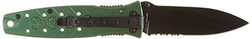 Smith & Wesson S&W Linerlock. Green. -