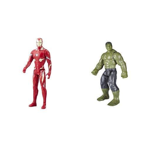 Marvel Infinity War Titan Hero Series - Iron Man & Hulk (with Titan Hero Power FX Port)