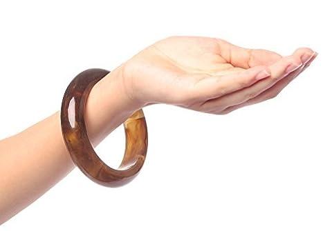 Honeyjoy Femme classique rétro Marron Bracelet
