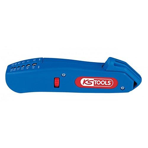 KS Tools 115.1003 Pince à dénuder pour câbles ronds ø 4 à 28 mm