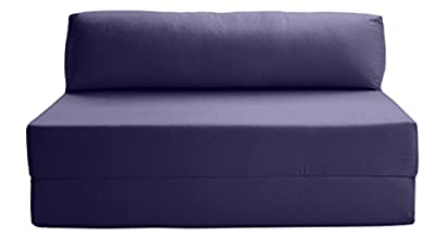 JAZZ SOFABED - NAVY BLUE Deluxe Double Sofa Bed