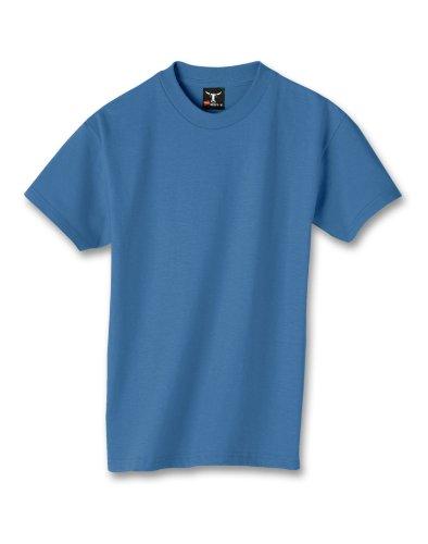 Hanes-beefy-t-Maglietta da ragazzo Denim Blue XS