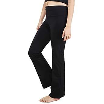 Nite Flite Womens Cotton Sports Trousers ,Black ,Small