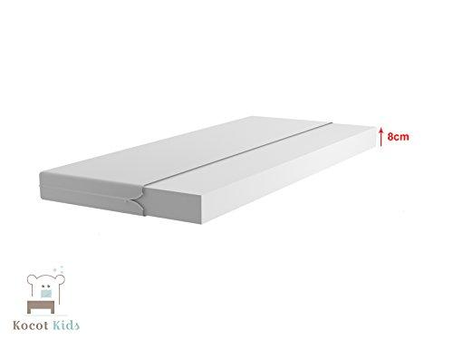 Kocot Kids Kinderbett Jugendbett 70x140 80x160 80x180 Weiß mit Rausfallschutz Matratze Schubalde und Lattenrost Kinderbetten für Mädchen und Junge - Fee mit Schmetterlingen 180 cm - 2