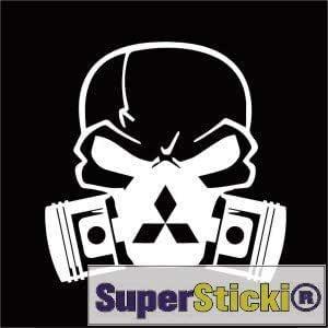 Supersticki Kopf Mit Atemmaske Mitsubishi Ca 15 Cm Aufkleber Sticker Decal Aus Hochleistungsfolie Aufkleber Autoaufkleber Tuningaufkleber Racingaufkleber Rennaufkleber Hochleis Auto