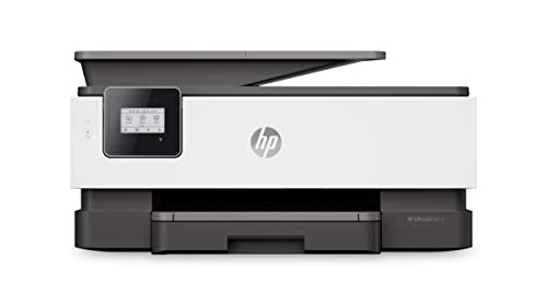 HP OfficeJet 8012 Multifunktionsdrucker (Drucken, Scannen, Kopieren, Fax, WLAN, LAN, Duplex, HP Instant Ink, HP ePrint, Airprint, mit 2 Probemonaten HP Instant Ink Inklusive) basalt