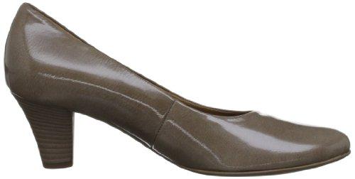 Gabor  Beautiful Patent,  Scarpe col tacco donna Marrone (Marron (Beige))