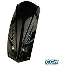 Motodak Tablier AV/Face AV Scooter tun'r* Adapt. ludix Double Optique Noir (2x20w + LED)