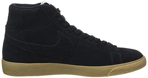 Nike Blazer Mid Premium, Baskets Basses Homme Noir (Black/Black-Gum Lt Brown)