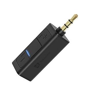 Bluetooth Aux Adapter, TekHome 4.2 Bloothooth Adapter Klein, Aux Adapter Auto, Kfz Bluetooth Adapter Audio 3.5mm Musik Empfänger für Kopfhörer und Stereoanlage.