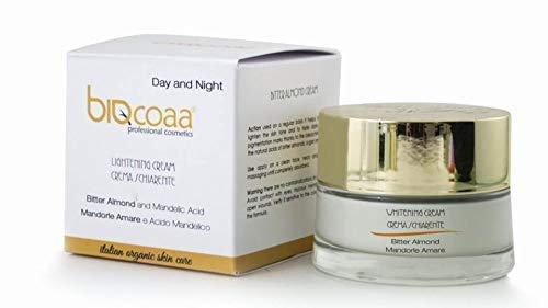 Glykolsäure Pigmentierung (Gesichtscreme speziell für die dunkle Flecke aufhellende - dermatologisch getestet - natürlich made in Italy Kosmetik - 50 ml 26,90 black friday)