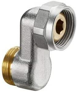 Screw connectors passage AG X AG euro Cone x euro Cone Nickel Plated