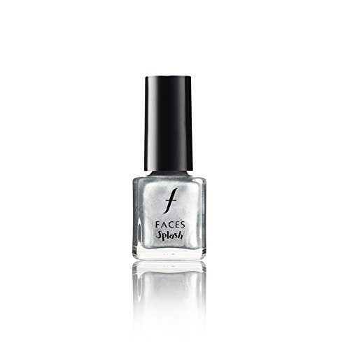 Faces Splash Nail Enamel, Silver Frost 61, 8ml