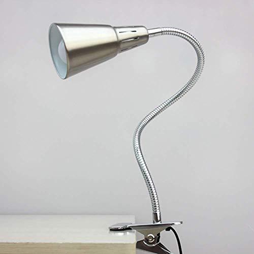 halts-Schreibtischlampe, Clip-Licht Led-Stand-Stand-elektrische Leselampe-Licht frei biegsamer Schreibtisch-Stand-Arbeits-Arbeits-Lernen-Schreibtisch-Schlafzimmer-Beleuchtung Dreh ()