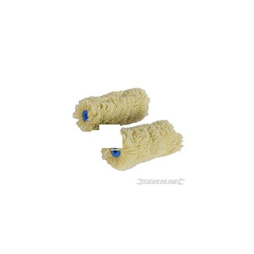 lot-de-2-mini-manchons-pour-rouleaux-de-peinture-100-mm-poils-longs-silverline-468826