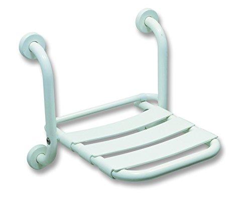 Sedile ribaltabile per vasca da bagno o doccia per anziani disabili Bianco