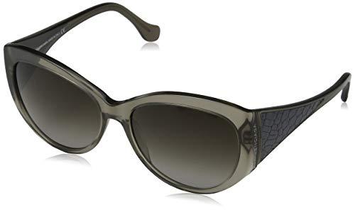 Balenciaga Damen Sonnenbrille, Black, 58