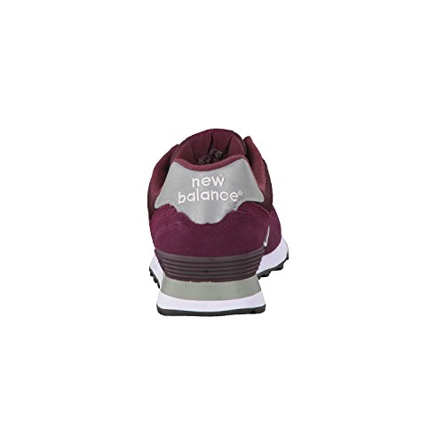 New Balance w574, Scarpe da Ginnastica Unisex Adulto rosso vinaccia grigio