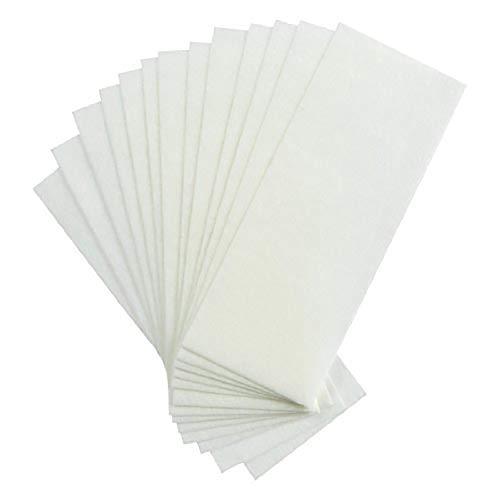 Beito 100pcs Cabello eliminación cera tiras papel