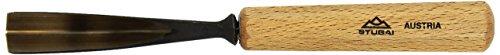 Stubai 524020 Couteau à sculpteur, Forme 40, 20 mm, Or/Beige