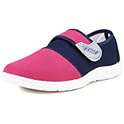 TRV Women's Pink Canvas Bellies (Silk4) - 8 UK