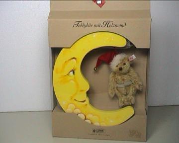 Steiff Teddybär mit Holzmond 2001 LED 3000 Stück LimNr.: 01905 STEIFF 670909