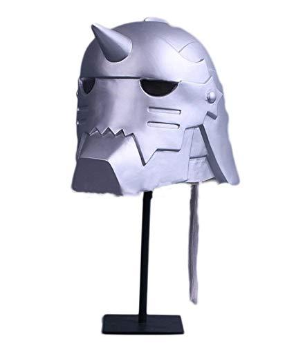 Kostüm Alchemist - Halloween Cosplay Kostüm Maske Fullmetal Alchemist Alfons Helm Cosplay Maskerade Filme Spiele Masken Requisiten