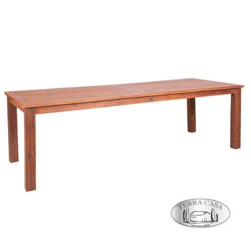 Esstisch BANDUNG 240 cm Teakholz Tisch eckig Gartentisch Gartenmöbel Premiumqualität